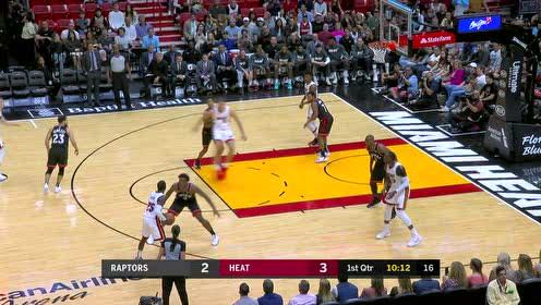 2020年01月03日NBA常规赛 猛龙VS热火 全场录像回放视频