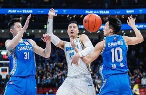 近五场场均16+6,北京男篮核心成本土第一SF,他和林书豪是绝配
