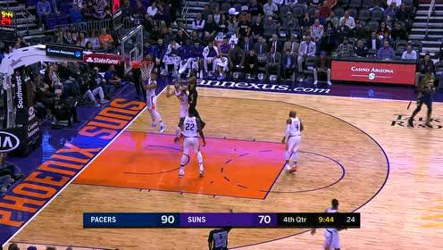 2020年01月23日NBA常规赛 步行者VS太阳 全场录像回放视频