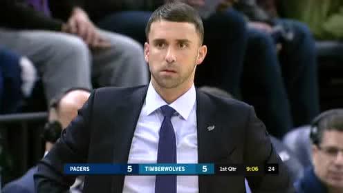 2020年01月16日NBA常规赛 步行者VS森林狼 全场录像回放视频