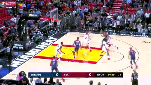 2020年01月23日NBA常规赛 奇才VS热火 全场录像回放视频