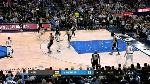 2020年01月03日NBA常规赛 篮网VS独行侠 全场录像回放视频