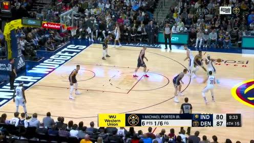 2020年01月20日NBA常规赛 步行者VS掘金 全场录像回放视频