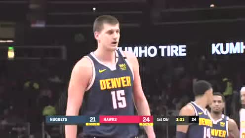 2020年01月07日NBA常规赛 掘金VS老鹰 全场录像回放视频