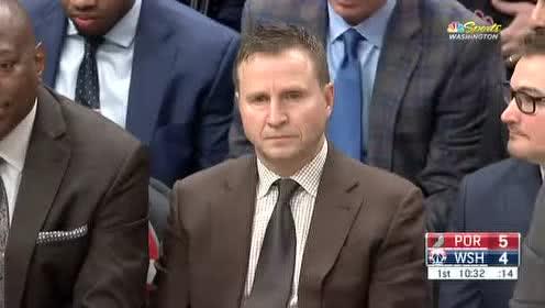 2020年01月04日NBA常规赛 开拓者VS奇才 全场录像回放视频