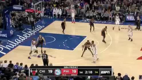 2020年01月18日NBA常规赛 公牛VS76人 全场录像回放视频