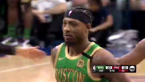 2020年01月10日NBA常规赛 凯尔特人VS76人 全场录像回放视频