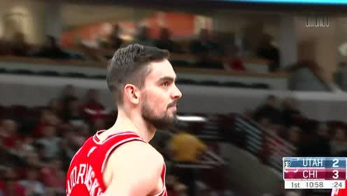 2020年01月03日NBA常规赛 爵士VS公牛 全场录像回放视频