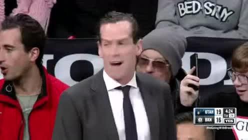 2020年01月15日NBA常规赛 爵士VS篮网 全场录像回放视频