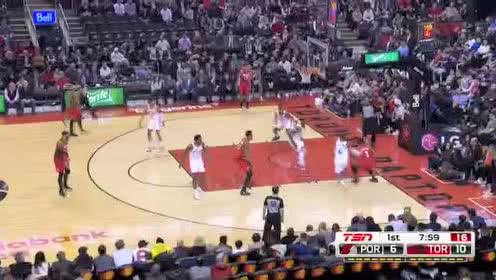 2020年01月08日NBA常规赛 开拓者VS猛龙 全场录像回放视频