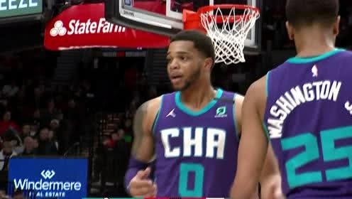 2020年01月14日NBA常规赛 黄蜂VS开拓者 全场录像回放视频