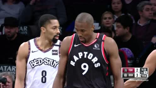 2020年01月05日NBA常规赛 猛龙VS篮网 全场录像回放视频