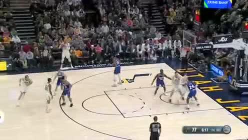 2020年01月19日NBA常规赛 国王VS爵士 全场录像回放视频
