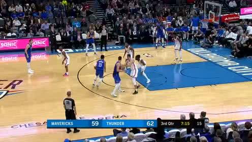 2020年01月01日NBA常规赛 独行侠VS雷霆 全场录像回放视频