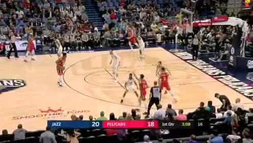 2020年01月17日NBA常规赛 爵士VS鹈鹕 全场录像回放视频