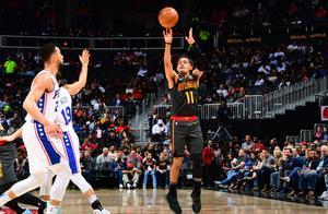 NBA再爆冷门!特雷杨创联盟近20年新纪录,卡特达成生涯里程碑