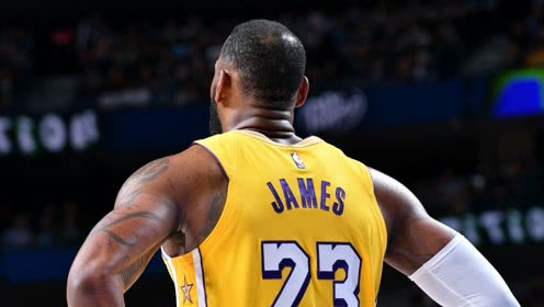 詹姆斯vs独行侠集锦 35分16篮板运动战总进球数超乔丹