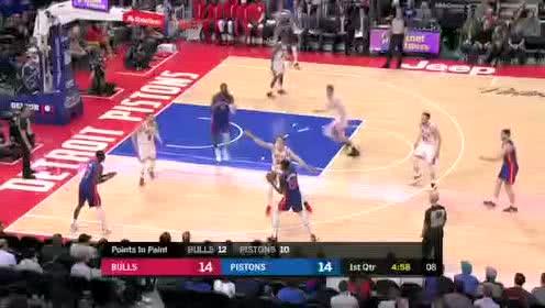 2020年01月12日NBA常规赛 公牛VS活塞 全场录像回放视频