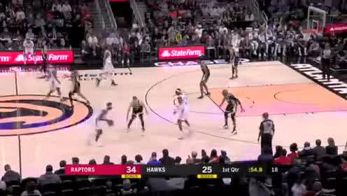 2020年01月21日NBA常规赛 猛龙VS老鹰 全场录像回放视频