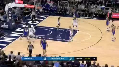 2020年01月03日NBA常规赛 勇士VS森林狼 全场录像回放视频