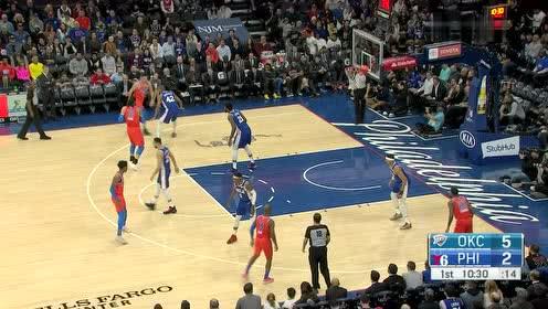 2020年01月07日NBA常规赛 雷霆VS76人 全场录像回放视频