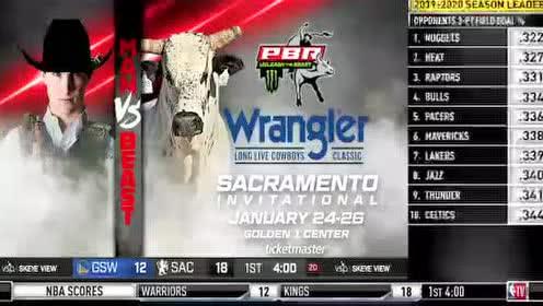 2020年01月07日NBA常规赛 勇士VS国王 全场录像回放视频