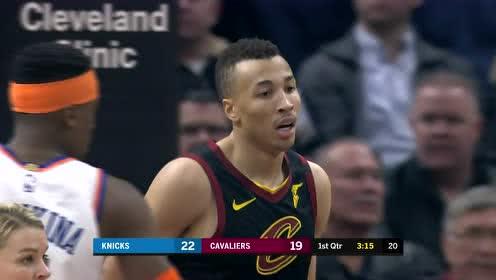 2020年01月21日NBA常规赛 尼克斯VS骑士 全场录像回放视频
