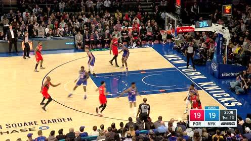 2020年01月02日NBA常规赛 开拓者VS尼克斯 全场录像回放视频