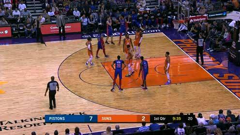 2020年02月29日NBA常规赛 活塞VS太阳 全场录像回放视频