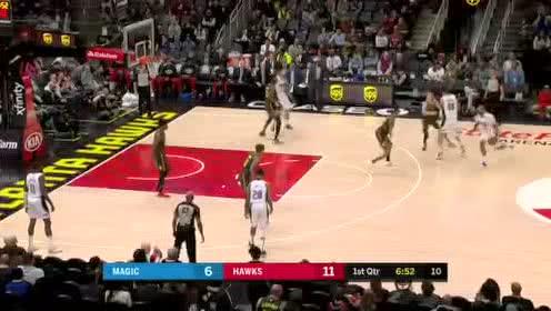 2020年02月27日NBA常规赛 魔术VS老鹰 全场录像回放视频