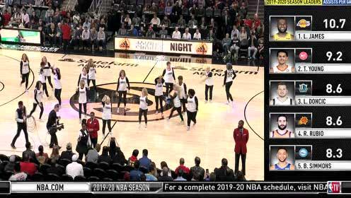 2020年02月23日NBA常规赛 独行侠VS老鹰 全场录像回放视频