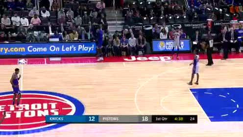 2020年02月09日NBA常规赛 尼克斯VS活塞 全场录像回放视频