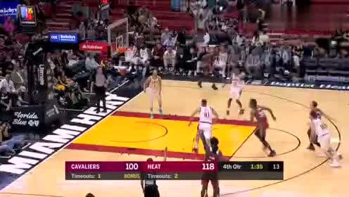 2020年02月23日NBA常规赛 骑士VS热火 全场录像回放视频