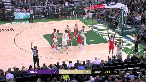 2020年02月11日NBA常规赛 国王VS雄鹿 全场录像回放视频