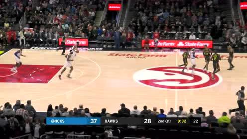 打的就是措手不及 蒂格反击突然加速上篮得手打停尼克斯