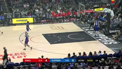 2020年02月23日NBA常规赛 国王VS快船 全场录像回放视频