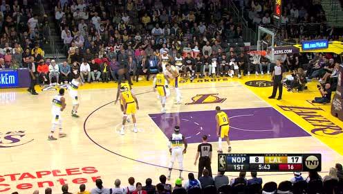 2020年02月26日NBA常规赛 鹈鹕VS湖人 全场录像回放视频