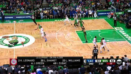 2020年02月14日NBA常规赛 快船VS凯尔特人 全场录像回放视频