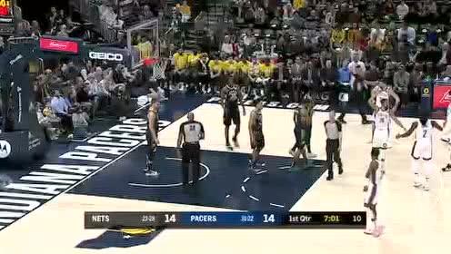 2020年02月11日NBA常规赛 篮网VS步行者 全场录像回放视频