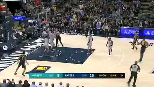 2020年02月26日NBA常规赛 黄蜂VS步行者 全场录像回放视频