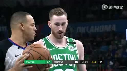 2020年02月10日NBA常规赛 凯尔特人VS雷霆 全场录像回放视频