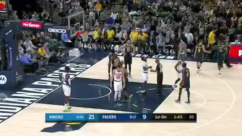 2020年02月02日NBA常规赛 尼克斯VS步行者 全场录像回放视频