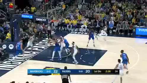 2020年02月04日NBA常规赛 独行侠VS步行者 全场录像回放视频
