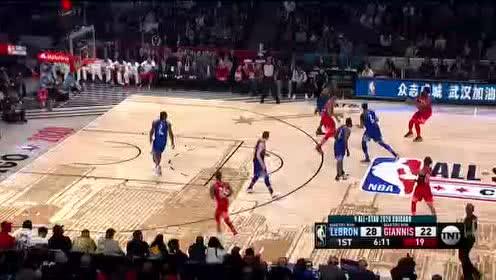 2020年NBA全明星赛 詹姆斯队VS字母哥队 全场录像回放视频
