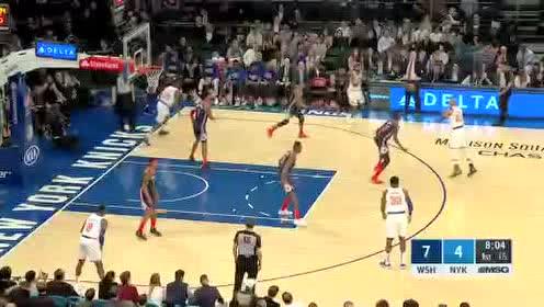 2020年02月13日NBA常规赛 奇才VS尼克斯 全场录像回放视频