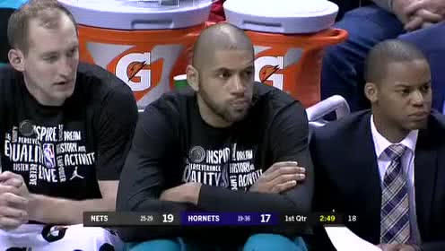 2020年02月23日NBA常规赛 篮网VS黄蜂 全场录像回放视频