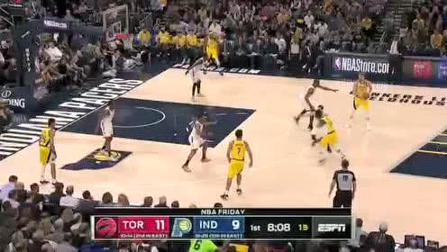 2020年02月08日NBA常规赛 猛龙VS步行者 全场录像回放视频