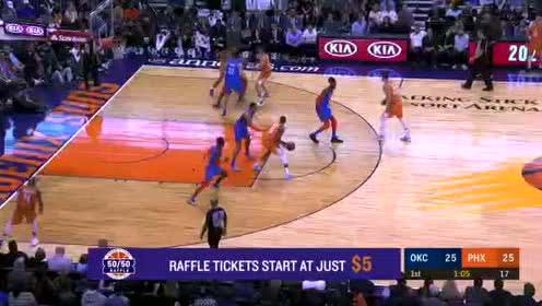 2020年02月01日NBA常规赛 雷霆VS太阳 全场录像回放视频