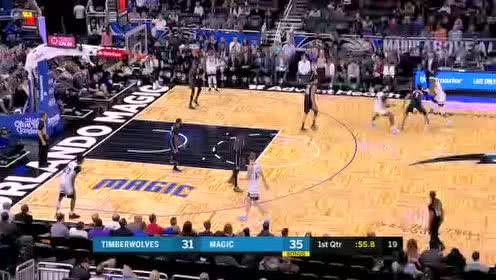 2020年02月29日NBA常规赛 森林狼VS魔术 全场录像回放视频
