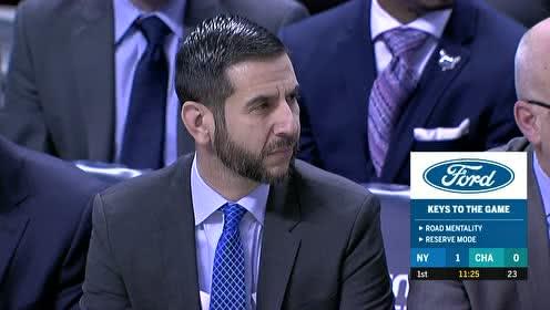 2020年02月27日NBA常规赛 尼克斯VS黄蜂 全场录像回放视频